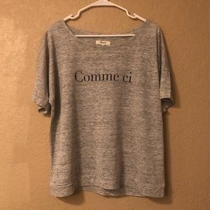 Madewell Comme ci Comme ca Graphic Tee